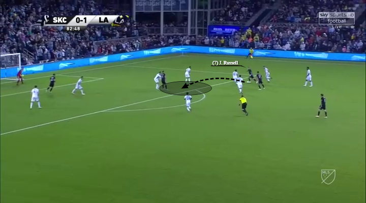 Johnny Russell Sporting Kansas City MLS Cup Tactical Analysis